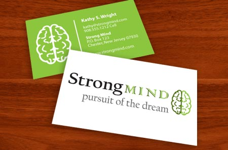 Graphic Design for Strong Mind in Chester, New Jersey