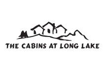 Logo Design for The Cabins at Long Lake in Maine