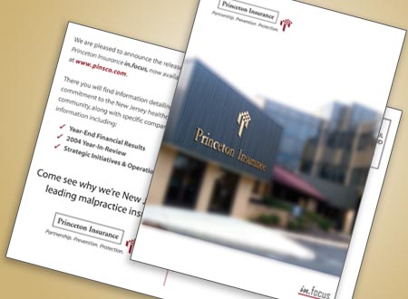 Graphic Design for Princeton Insurance, New Jersey